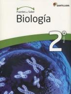 Portada del libro Biologia 2º Medio, serie Puentes del saber, Editorial Santillana