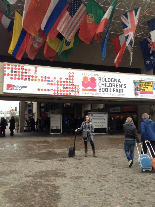 Llegada de Territorio Escrito a Bologna Children's Book Fair 2014
