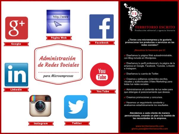 Administración de redes sociales para microempresas